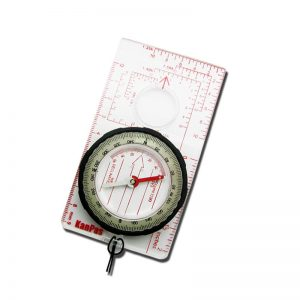 Navigational Map Orienteering Compass