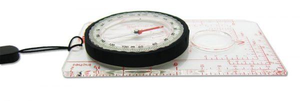 Navigational Map Orienteering Compass